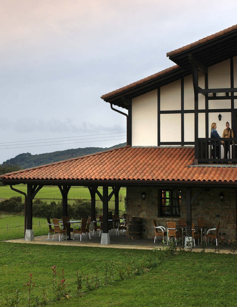 casa rural despedidas bilbao